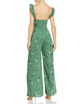 LIKELY - Mariah Floral-Print Wide-Leg Jumpsuit