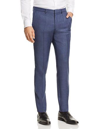 HUGO - Hesten Sharkskin Extra Slim Fit Suit Pants