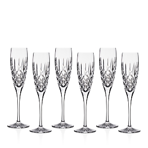Waterford Araglin Encore Flutes, Set of 6 - 100% Exclusive
