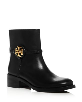 Women's Miller Leather Booties by Tory Burch