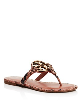 Tory Burch - Women's Metal Miller Thong Sandals