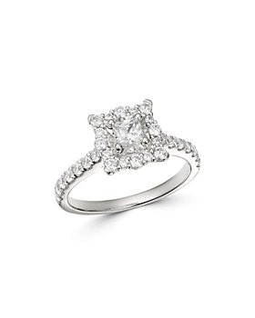 Bloomingdale's - Princess-Cut Diamond Engagement Ring in 14K White Gold, 1.0 ct. t.w. - 100% Exclusive
