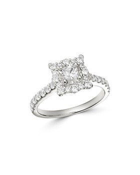 9108a6589cdbbc Bloomingdale's - Princess-Cut Diamond Engagement Ring in 14K White Gold,  1.0 ct.