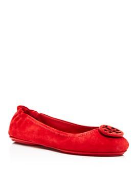 Tory Burch - Women's Minnie Travel Ballet Flats