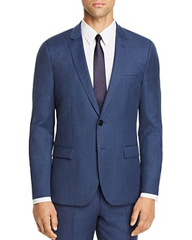 HUGO - Arti Birdseye Extra Slim Fit Suit Jacket