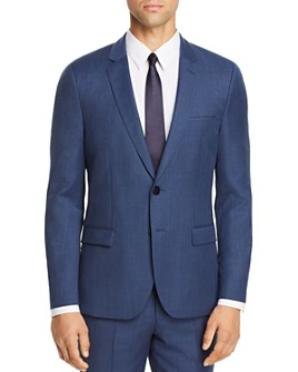 HUGO - Arti Birdseye Extra Slim Fit Suit Jacket