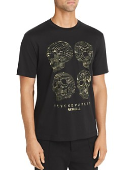 BLACKBARRETT by Neil Barrett - 3-D Skulls Tee