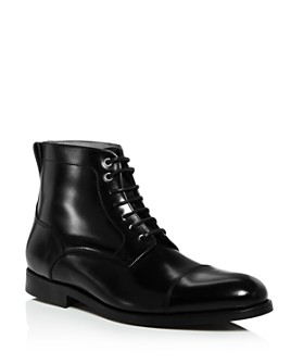 Jack Erwin - Men's Barclay Leather Lace-Up Boots - 100% Exclusive