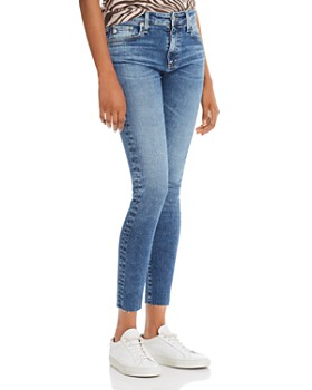 0d866ca298a AG - Farrah Skinny Ankle Jeans in 12 Years Fluid ...