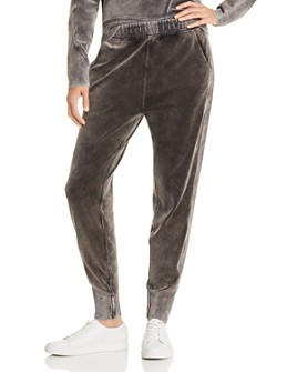 rag & bone - Washed Velour Jogger Pants