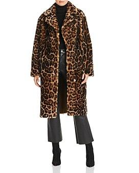 Maximilian Furs - Leopard-Print Shearling Coat - 100% Exclusive