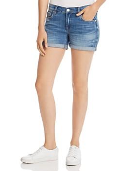 BLANKNYC - Cuffed Denim Shorts in Moon Child
