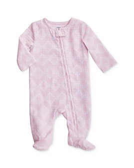Aden and Anais - Girls' Diamond Print Footie - Baby