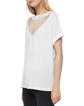 ALLSAINTS - Imogen Slash Boy Tee