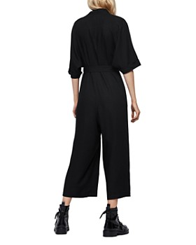 ALLSAINTS - Laurel Cropped Wide-Leg Jumpsuit