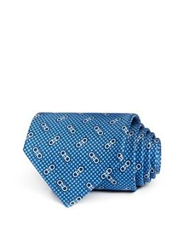 Salvatore Ferragamo - Vintage Gancini Classic Silk Tie