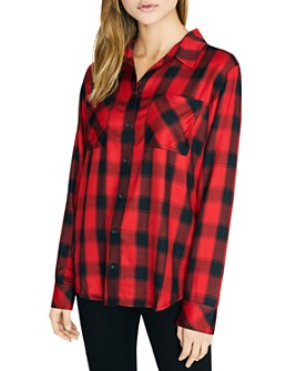 Sanctuary - New Generation Plaid Boyfriend Shirt