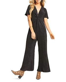 Show Me Your MuMu - Daniella Twist-Front Jumpsuit