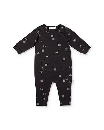 Miles Baby - Baby Unisex Geo Print Playsuit - Baby