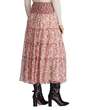 Ralph Lauren - Tiered Floral-Print Peasant Skirt