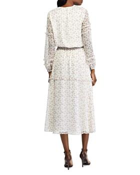 Ralph Lauren - Long-Sleeve Floral-Print Dress