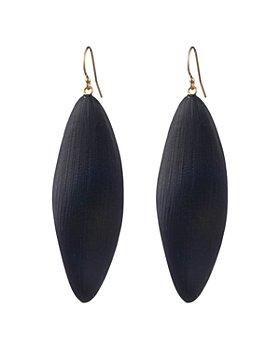 Alexis Bittar - Long Leaf-Inspired Lucite Drop Earrings