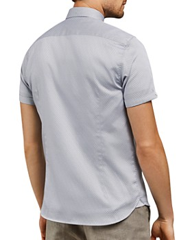 Ted Baker - Donald Geo Print Slim Fit Shirt