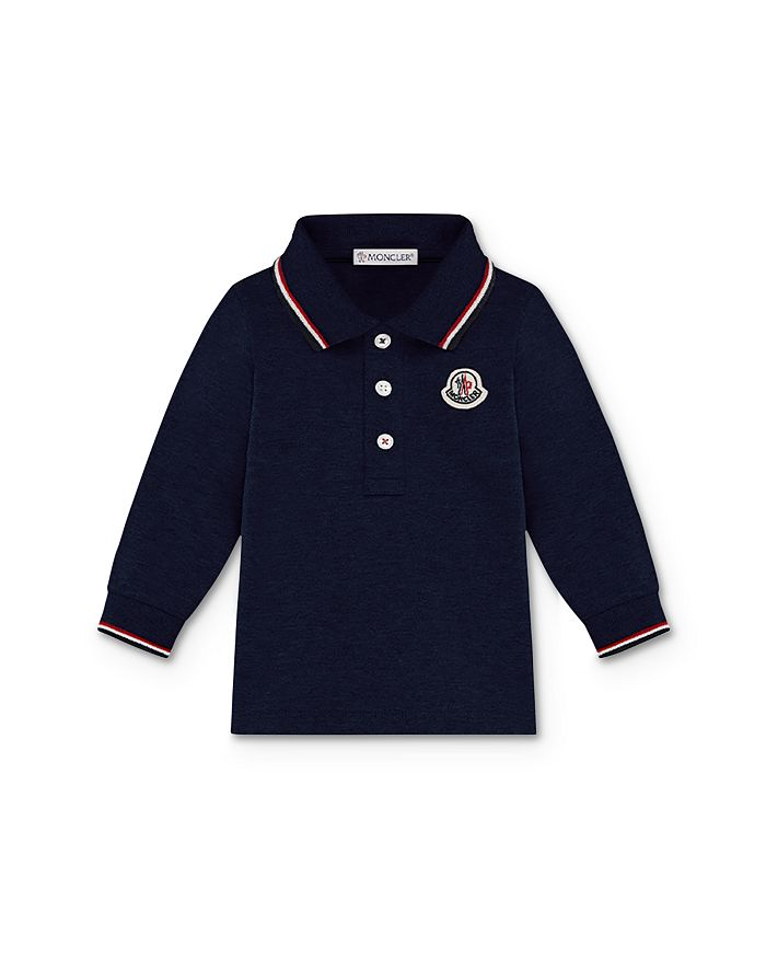 Moncler - Boys' Contrast-Stripe Polo Shirt - Baby, Little Kid