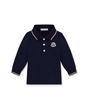 Moncler Boys\\\' Contrast Stripe Polo Shirt - Baby Little Kid