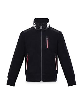 Moncler - Boys' Logo Zip-Up Jacket - Big Kid