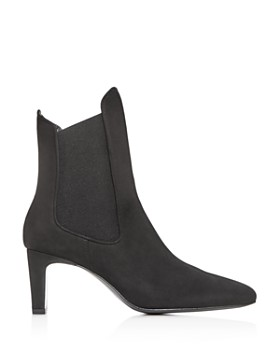 Dorateymur - Women's Square-Toe High Block-Heel Chelsea Boots