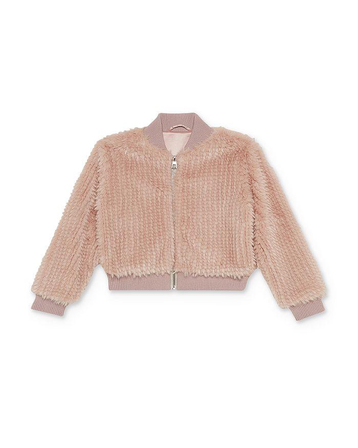 Bardot Junior - Girls' Eve Faux-Fur Bomber Jacket - Big Kid