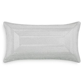 "Hudson Park Collection - Marble Frame Decorative Pillow, 12"" x 22"" - 100% Exclusive"