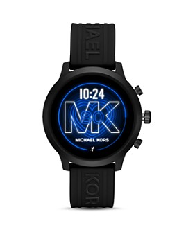 Michael Kors - MK GO Silicone Strap Touchscreen Smartwatch, 43mm