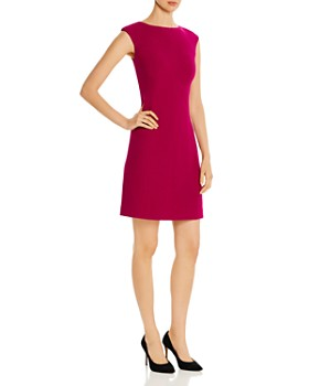kate spade new york - Seamed Cap-Sleeve Sheath Dress