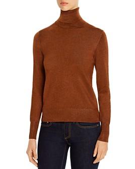 kate spade new york - Metallic Turtleneck Sweater