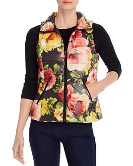 Fillmore - Floral-Print Down Puffer Vest