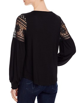 Design History - Lace Knit Top