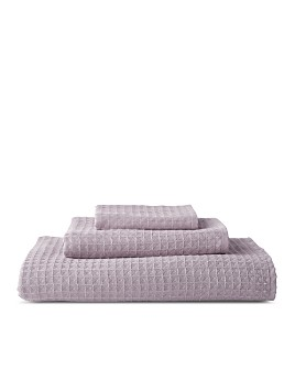 Uchino - Solid Waffle Pile Towels