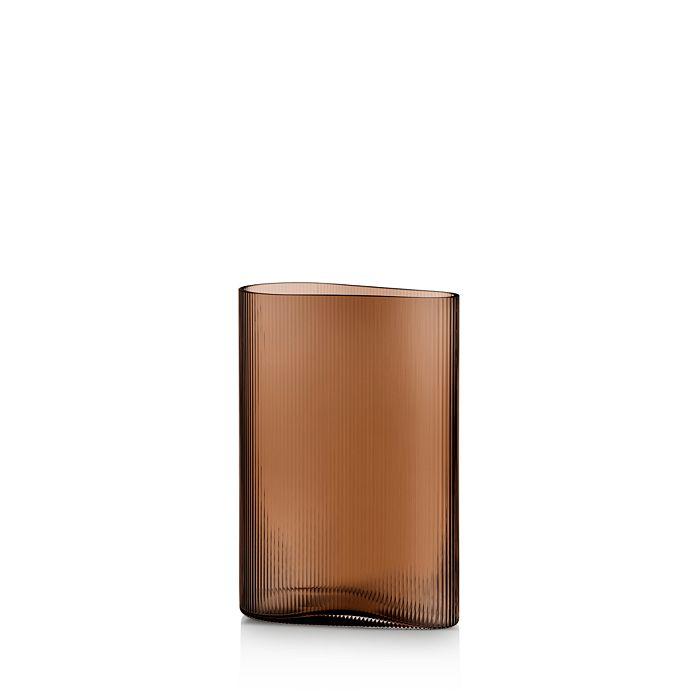 Nude Glass - Mist Caramel Short Vase