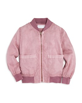 Bella Dahl - Girls' City Bomber Jacket - Little Kid, Big Kid
