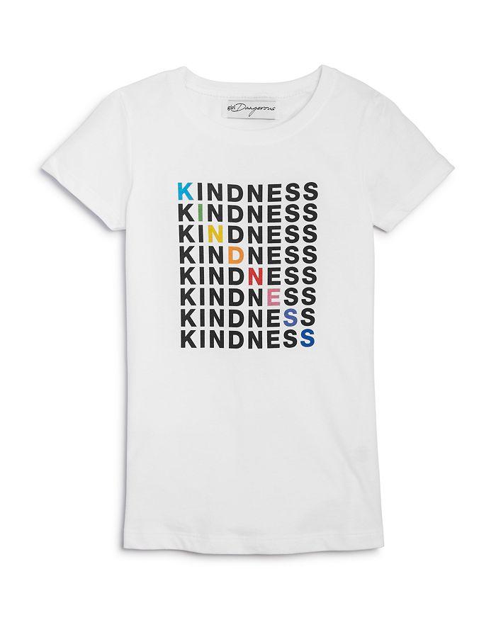 Kid Dangerous - Girls' Kindness Tee - Big Kid