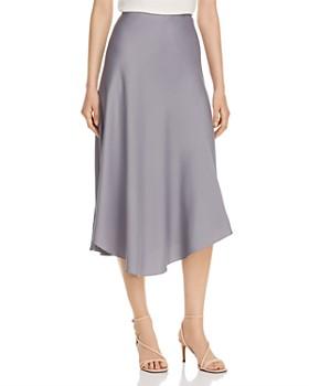 Calvin Klein - Asymmetric Slip Skirt