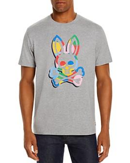Psycho Bunny - Multicolor Logo Graphic Tee