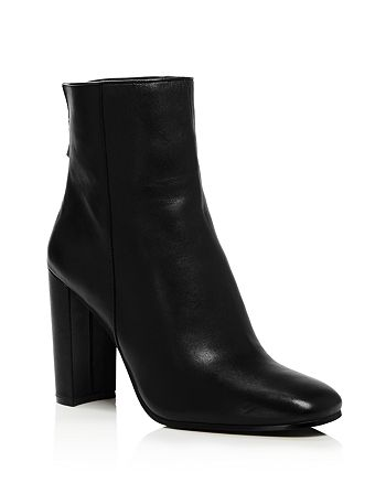 AQUA - Women's Soren Block Heel Booties - 100% Exclusive