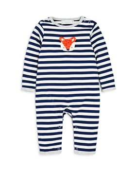 Albetta - Boys' Striped Fox Coverall - Baby