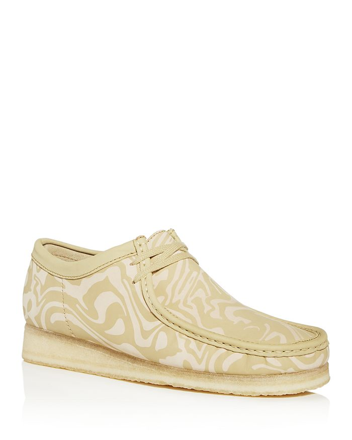 Clarks - Men's Wu Wallabee Moc-Toe Leather Chukka Boots