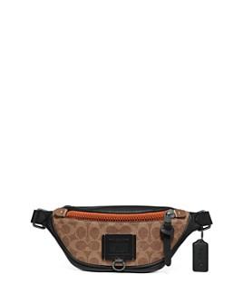 COACH - Signature Mini Rivington Utility Belt Bag