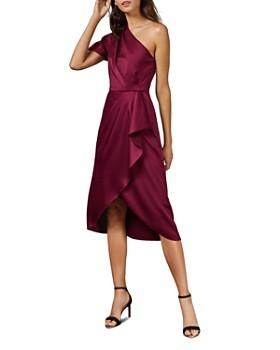 Ted Baker - Ridah One-Shoulder Midi Dress
