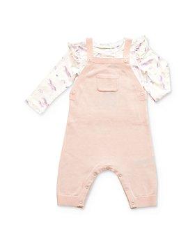 Angel Dear - Girls' Unicorn Bodysuit & Overalls Set - Baby